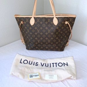 Louis Vuitton Neverfull MM Monogram Tote